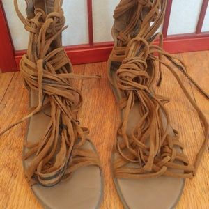 Windsor Tan Gladi-girl Sandals